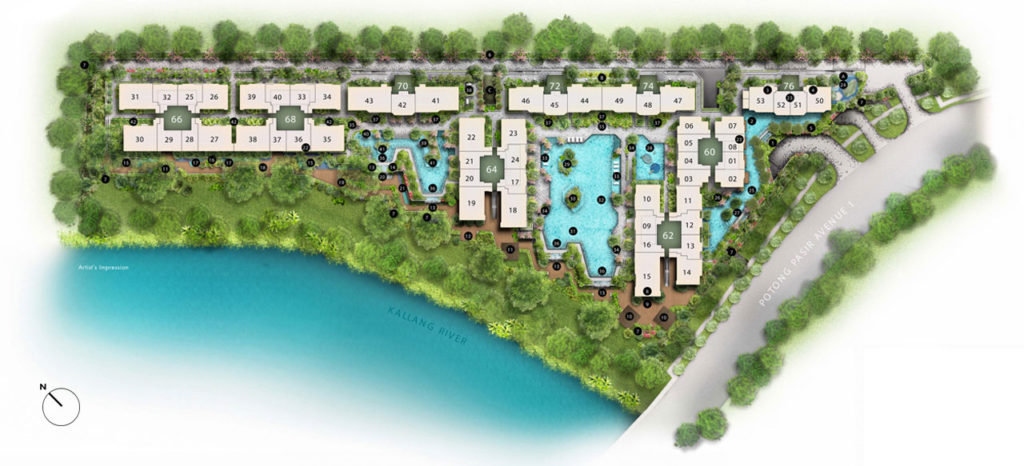 the-trever-site-plan-singapore